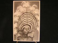 A-158 /Océanie Papouasie-Nouvelle-Guinée, Coiffure De Cérémonie/Auxiliaire Laïques Des Missions-Bruxelles - Palestine