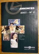 BANDE ANNONCES MAGAZINE N°002 2000 Couv DZIALOWSKI - VANDERS - BARADAT - MOUNIER - BUSCAGLIA - Livres, BD, Revues