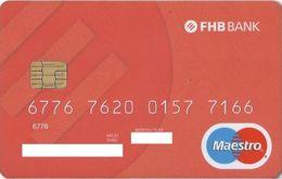 HUNGARY - FHB BANK - Geldkarten (Ablauf Min. 10 Jahre)