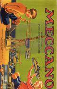 93- BOBIGNY- CATALOGUE MECCANO- BOITE N° 1- 31 MARS 1946- TRAMWAY-GRUE-MONOPLAN-MANEGE-CAMION-AVION-SCIE-HYDRAVION- - Meccano