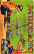 93- BOBIGNY- CATALOGUE MECCANO- BOITE N° 2-  TRAMWAY-GRUE-MONOPLAN-MANEGE-CAMION-AVION-SCIE-HYDRAVION- - Meccano