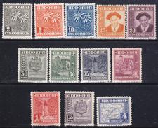 Andorra Spagnola 1948-53  Yv. 43A-50A  12 Val. MNH **vEDI SCANSIONE - Nuovi