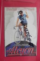 Pub Alcyon  Georges Speicher Champion Du Monde  Pneu Dunlop - Advertising