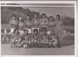 THOUARCE : FOOTBALL - ETOILE SPORTIVE THOUARCEENNE (ANNEES 1970 ?) - PHOTO 17,5 CM X 12,5 CM  - 2 SCANS - - Thouarce