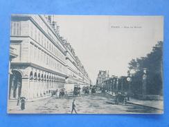 75-PARIS Rue De Rivoli , Animée , Dos Non Divisé - Arrondissement: 01
