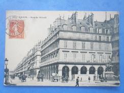 75-PARIS Rue De Rivoli , Animée , écrite Au Verso Et Circulée En 1912 - Arrondissement: 01