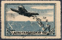 Stamp  POLAND POZNAN 1921 AIR MAIL - Posta Aerea
