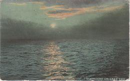 AK Moonlight On Lake Erie Luna Clair De Lune Mondschein Eriesee Long Point Old Cut Leamington Ontario Kanada Canada - Ontario