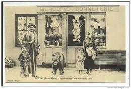 HORTES , Les Nomades , Un Montreur D' Ours , ( CPM ) Reproduction D'une CPA - France