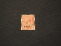 NAURU - 1916/21 RE  1 . - NUOVO(+) - Nauru