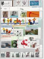 MG60) GERMANY 2001 -ANNATA COMPLETA -tutta Bordo Di Foglio Deutsche Post  NO ADESIVI - Nuovi