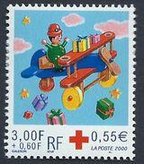 France Croix Rouge Fêtes De Fin D'année N°3362 Neuf Année 2000 - Ungebraucht