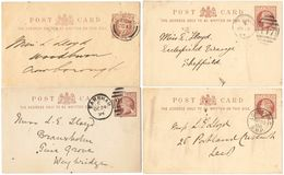 AR046) GREAT BRITAIN - LOT OF 11  POSTAL STATIONERY - Interi Postali