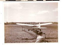 Photo Photographie Dayton Etats Unis Avion Radio Commandé Visa De La Censure 1939 Bleu - Lieux