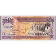 TWN - DOMINICAN REPUBLIC 183b - 50 Pesos Dominicanos 2011 Prefix EN - Signatures: Albizu & Bengoa UNC - Qatar