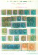 Willy Balasse 1343 - 1345. Auktion 1988 - Auktionskataloge