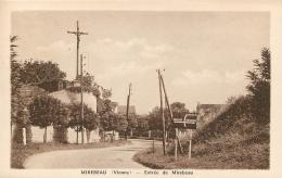 MIREBEAU ENTREE DE MIREBEAU - Mirebeau