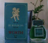 JE REVIENS - PARFUM 5 ML De WORTH - Miniatures Modernes (à Partir De 1961)
