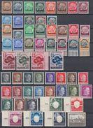 Dt. Besetzung 2.Wk Lot 58 Marken Postfrisch Ansehen !!!!!!!!!!! - Briefmarken