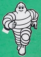 Automobile - Autocollant - Bonhomme Michelin - Pubblicitari