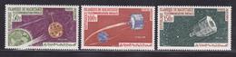 MAURITANIE AERIENS N°   27 à 29 ** MNH Neufs Sans Charnière, TB (D2818) Cosmos, Satellites - Mauritania (1960-...)