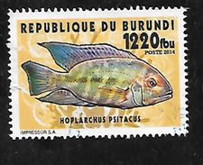 TIMBRE OBLITERE DU BURUNDI DE 2014 - Burundi
