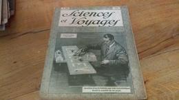 142/ SCIENCES ET VOYAGES N° 486 Inventeur D Une Ile Flottante Pour Raids Transatlantique Devant La Maquette De Son Proje - 1900 - 1949