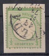 DR Minr.17 Briefstück Fulda 17.3.74 - Deutschland