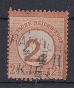 DR Minr.29 Gestempelt Bpst.L3 Hamburg Kiel - Deutschland