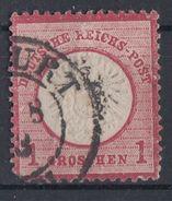 DR Minr.19 Plf.LXXII Gestempelt - Deutschland