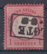 DR Minr.19 Plf.VIII Gestempelt - Deutschland