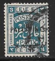 Palestine, Scott # 50 Used Postage Paid, Overprinted, 1922 - Palestine
