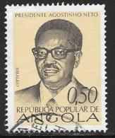 Angola, Scott # 599 Used Pres. Neto. 1976 - Angola