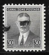 Canal Zone,  Scott #113 Used Williamson, 1940 - Canal Zone