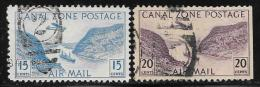 Canal Zone,  Scott #C10-1 Used Gaillard Cut, 1931 - Canal Zone