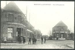 59 - Nord - Montigny-en-Ostrevent - Rue De Pecquencourt Buvette De La Gare , TBE - Altri Comuni