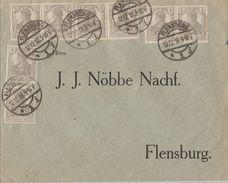 DR Brief Mef Minr.8x 102 Flensburg 12.12.18 - Deutschland