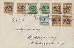 DR Brief Mif Minr.6x 298,2x 308,314 München 16.10.23 - Deutschland