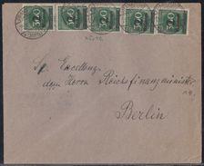DR Brief Mef Minr.5x 310 Frankfurt 25.10.23 - Deutschland