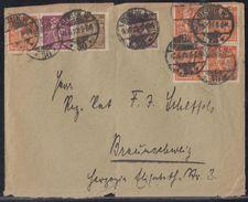 DR Brief Mif Minr.208,5x 238,241,242 Berlin 11.6.23 Geprüft - Deutschland