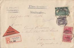 DR R-NN-Brief Mif Minr.2x 86II,101,116 Pfeddersheim 7.7.20 - Briefe U. Dokumente