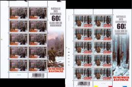 Belgium PF 3329**  Remember Bastogne - Feuilles/sheet - Faciale 16.40€ - Feuillets