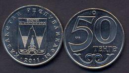 Kazakhstan 50 Tenge 2011 UNC < City UST - KAMENOGORSK > Commemorative Coin - Kazakhstan