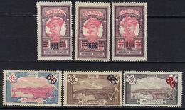 Martinique N° 86 - 91 * - Martinica (1886-1947)