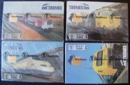 P 265/68 - TRENES SERIE COMPLETA 4 TARJETAS - NUEVA CON PRECINTO - A166 - España