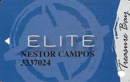 Treasure Bay Casino - Biloxi, MS - Elite Level Slot Card - No Date - Casino Cards