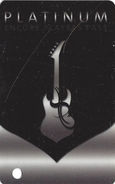 Hard Rock Casino - BIloxi, MS - BLANK Platinum Level Slot Card - Casino Cards