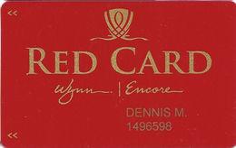 Wynn & Encore Casinos - Las Vegas, NV - Slot Card / Room Key - Casino Cards