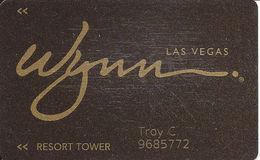Wynn Casino - Las Vegas, NV - Slot Card / Room Key - Casino Cards