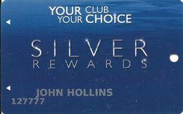 Pearl River Resort Casinos Choctaw, MS Slot Card - 3 Logos On Reverse (Bok Homa Text Logo) - Casino Cards